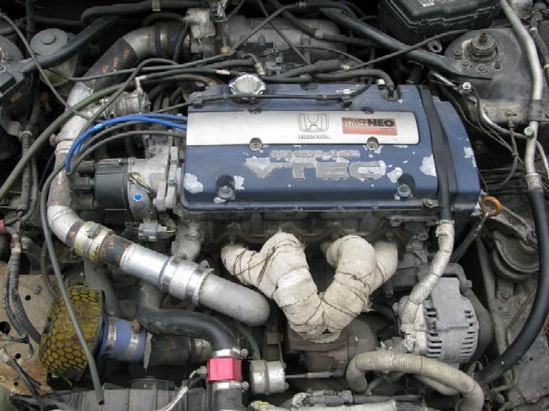 Honda F22 Engine - David Batty: The Garage